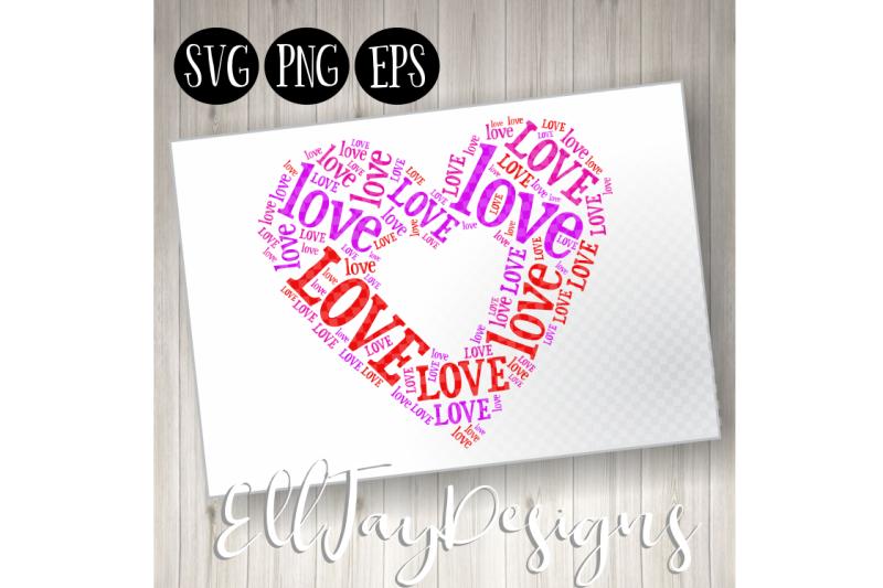 love-heart-wordart