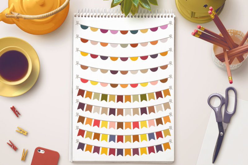 fall-bunting-clipart-bunting-banner-clipart-autumn-bunting-svg-bunting-flag-clipart-fall-svg