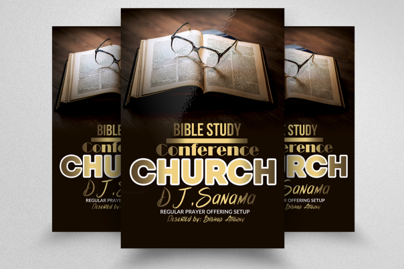 bible-study-church-flyers