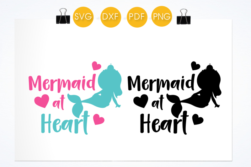 mermaid-at-heart-svg-png-eps-dxf-cut-file