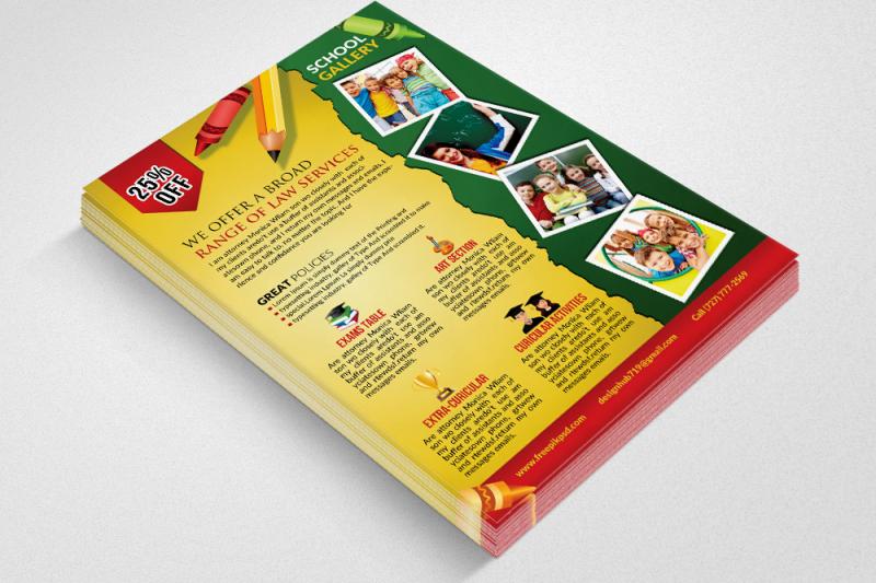 elementary-school-education-flyer