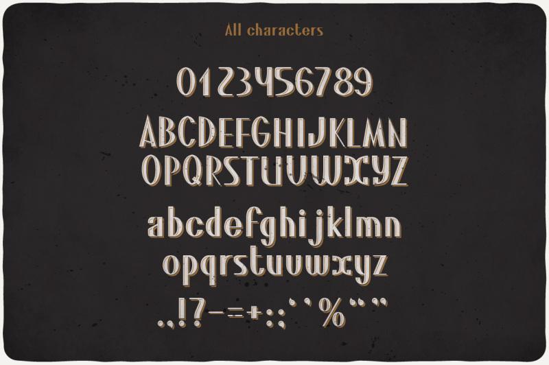 sambuca-typeface