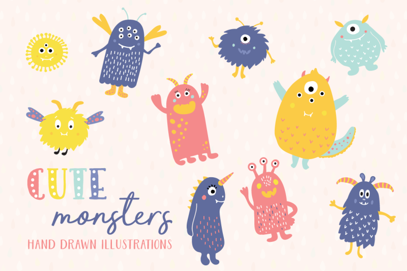 cute-monsters-patterns-and-illustrations