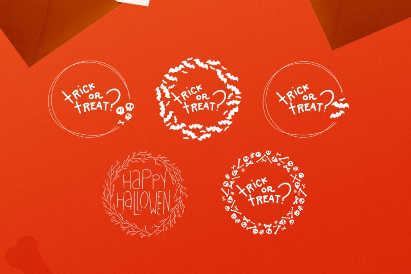 halloween-wreaths-vector-pack