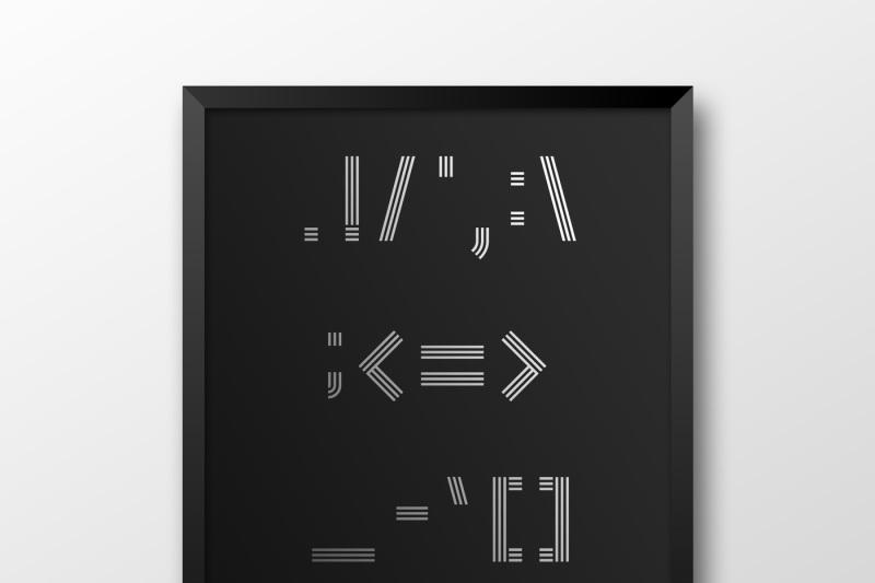 spaceline-font