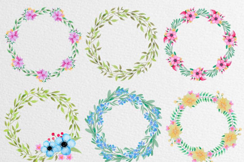 watercolor-panda-and-flowers