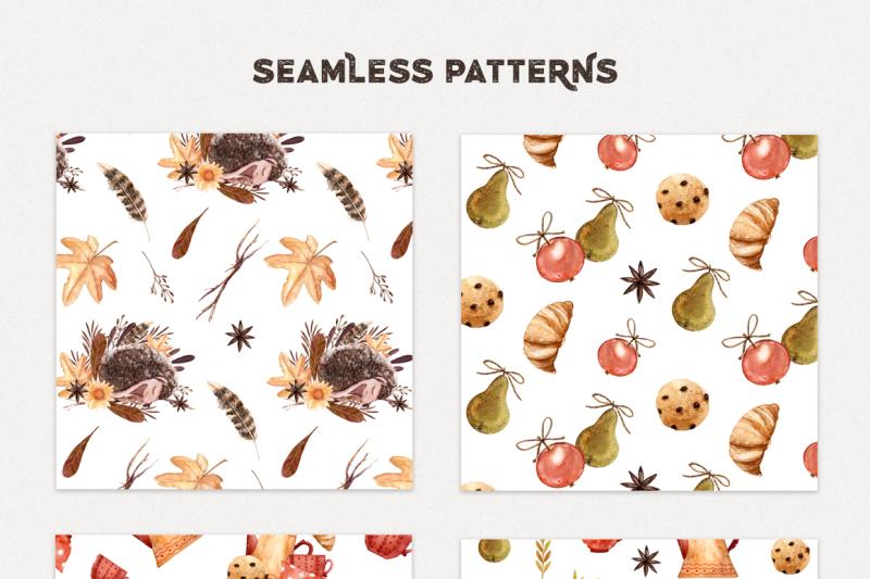 watercolor-autumn-hedgehogs