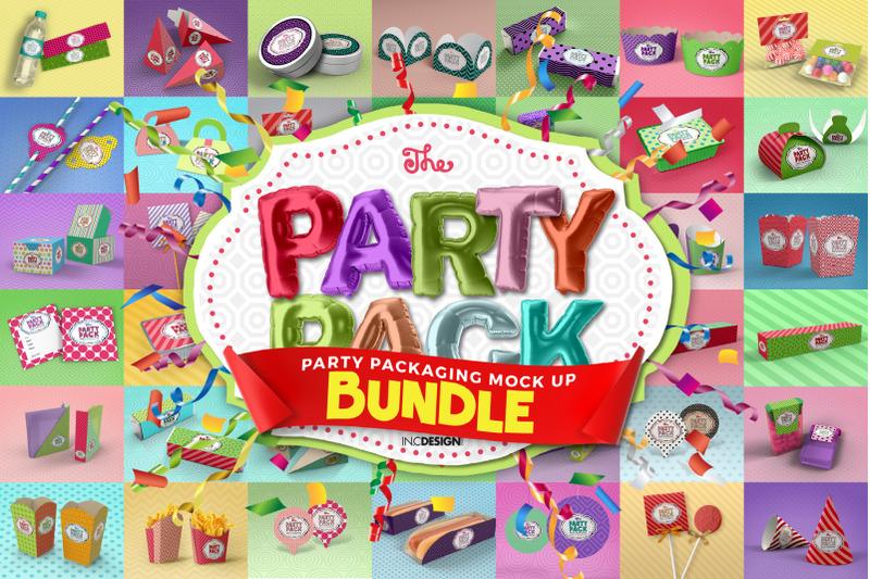 Download The Party Pack Mockup Bundle Free Mockups