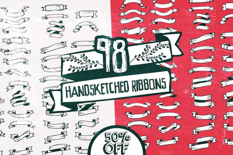 98-handsketched-ribbons