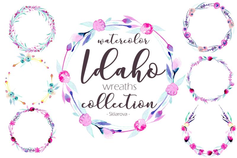 wreaths-watercolor-set-idaho