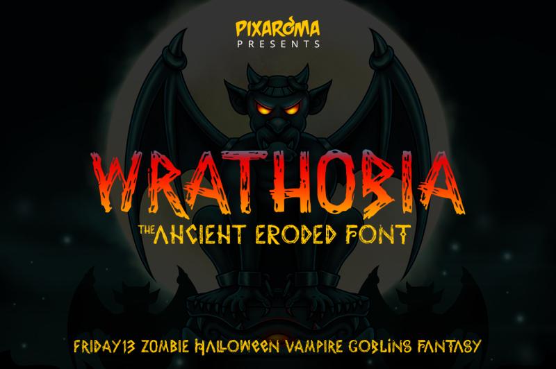 wrathobia-display-font