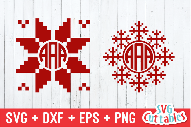 winter-christmas-monogram-frames