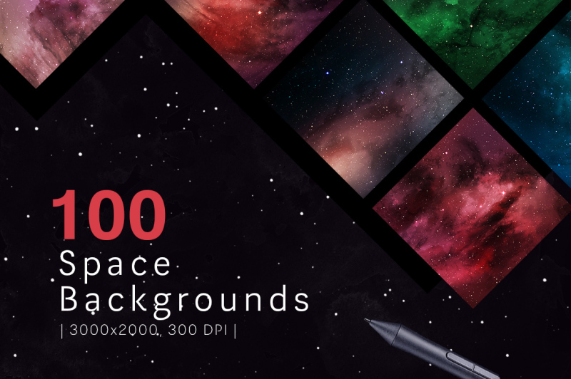 100-space-backgrounds