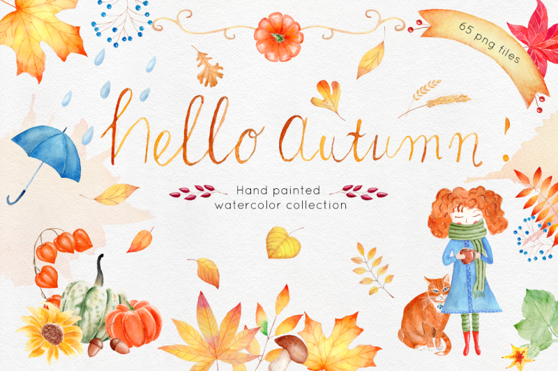 autumn-watercolor-collection