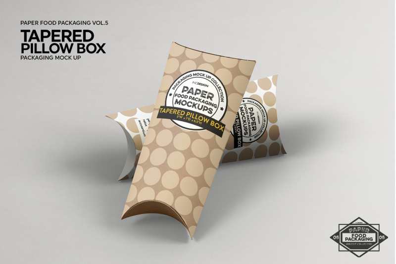 Vol 5 Paper Food Box Packaging Mockup Collection By Inc Design