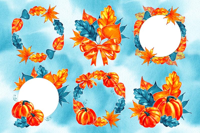 watercolor-autumn-illustrations