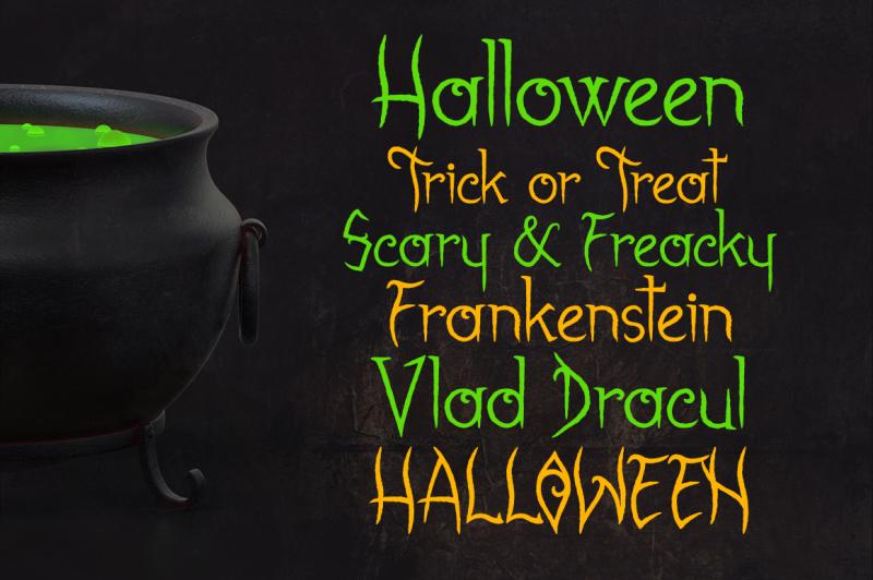 gabrielle-bloodkador-halloween-font