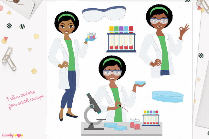 med-lab-woman-character-clipart-aleesha-l288