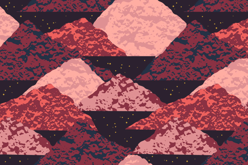 space-abstract-seamless-patterns
