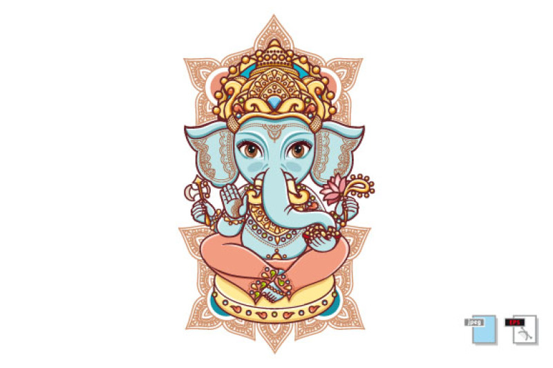 hindu-elephant-nbsp-god-lord-ganesh-hinduism-paisley-background-indian-hindu-motifs-henna-tattoo-textiles-sticker-cheerful-colorful-style-vector-elements-isolated-nbsp