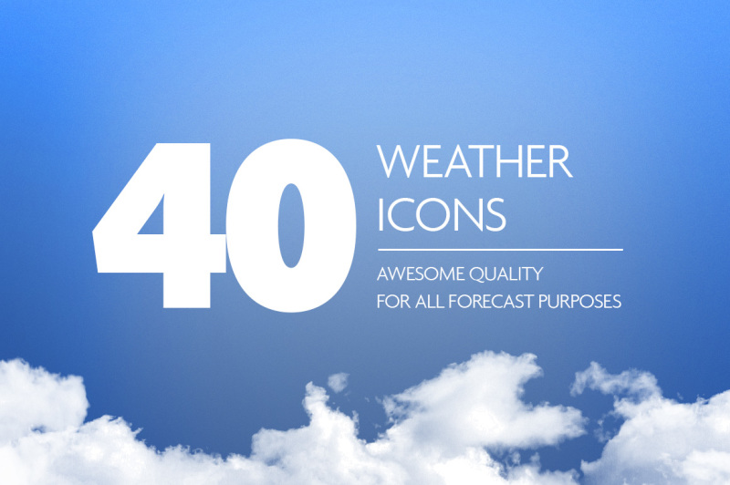 awesome-40-weather-icon-set