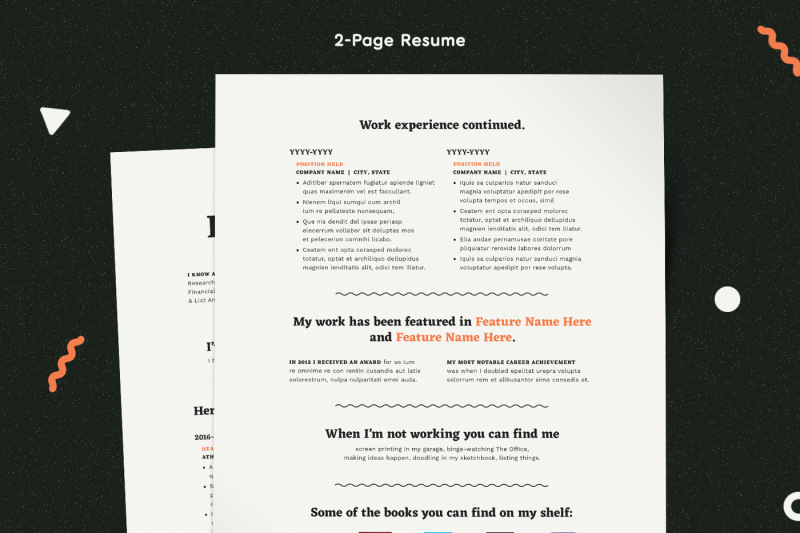 resume-template-modern-resume-resume-pdf-cv-template-resume-for-mac-resume-pages-resume-word-resume-indesign