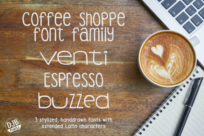djb-coffee-shoppe-font-bundle