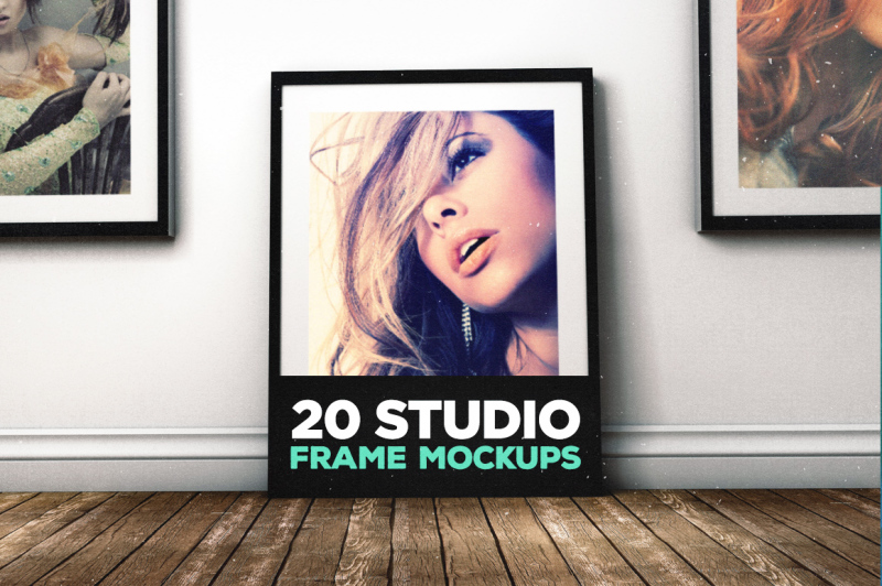Free Photo Realistic Mock-ups Set of 5 V1 (PSD Mockups)