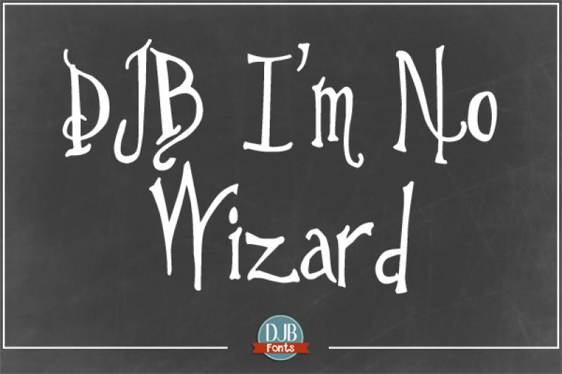 djb-i-m-no-wizard-font