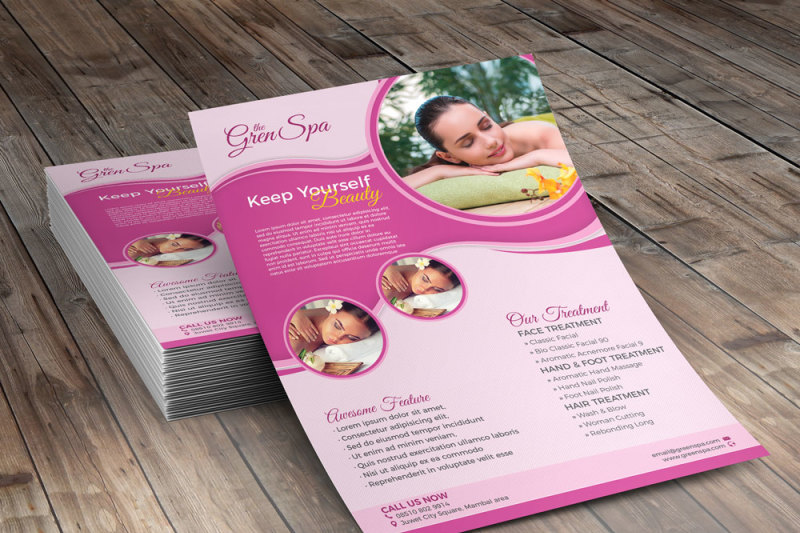 salon-and-spa-flyer