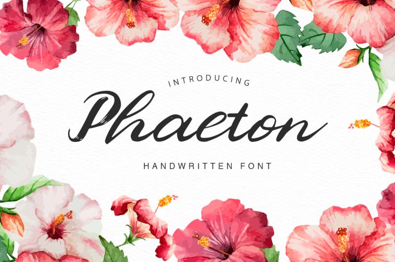 phaeton-font