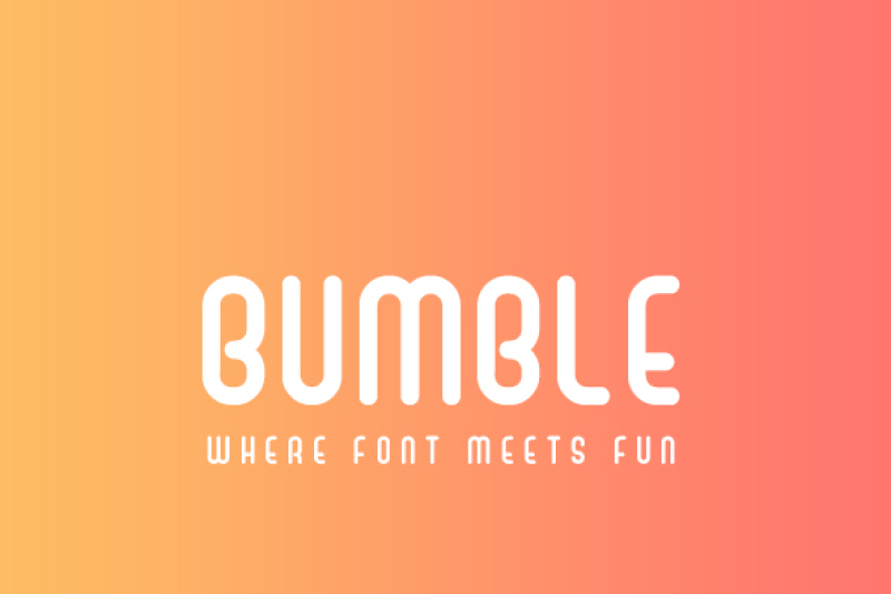 bumble-fun-sans-serif-font