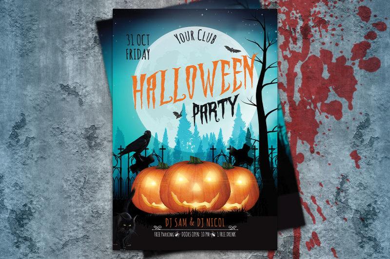 halloween-party-flyer