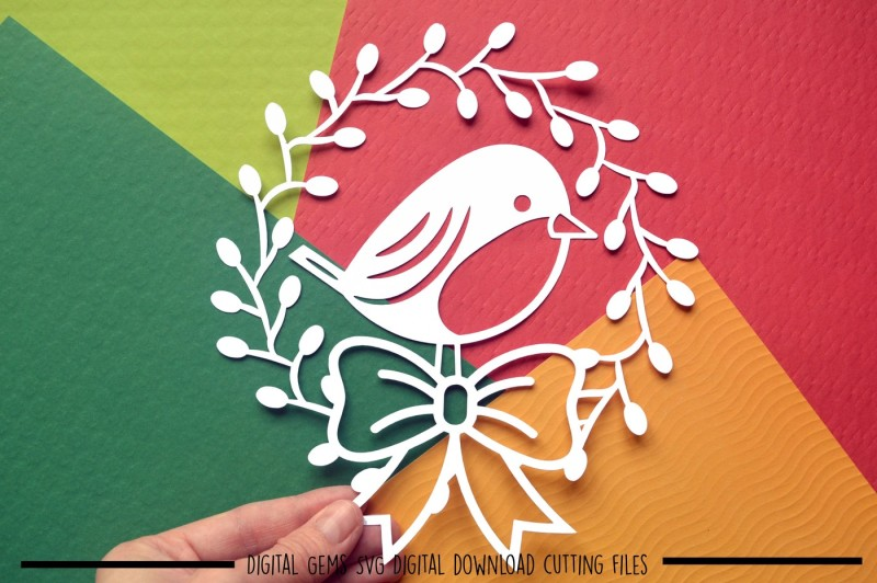 robin-paper-cut-svg-dxf-eps-files