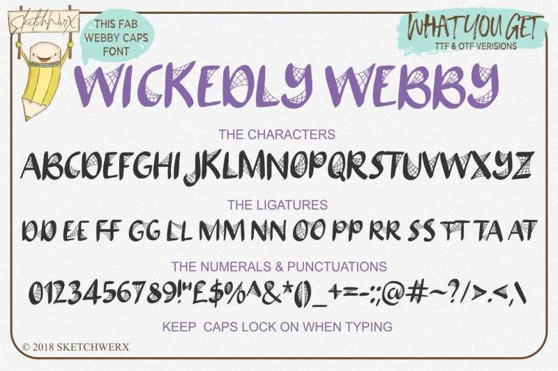 wickedly-webby-uppercase-font
