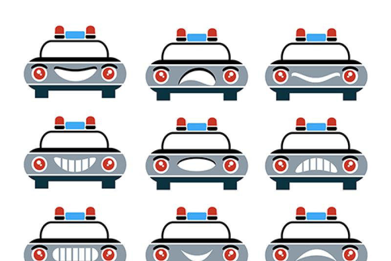 car-face-symbols