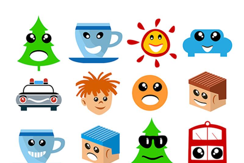 cartoon-collection-face-symbols