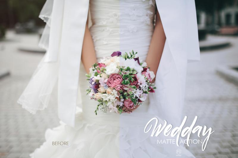 wedday-matte-photoshop-action