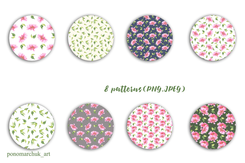 pink-flowers-watercolor