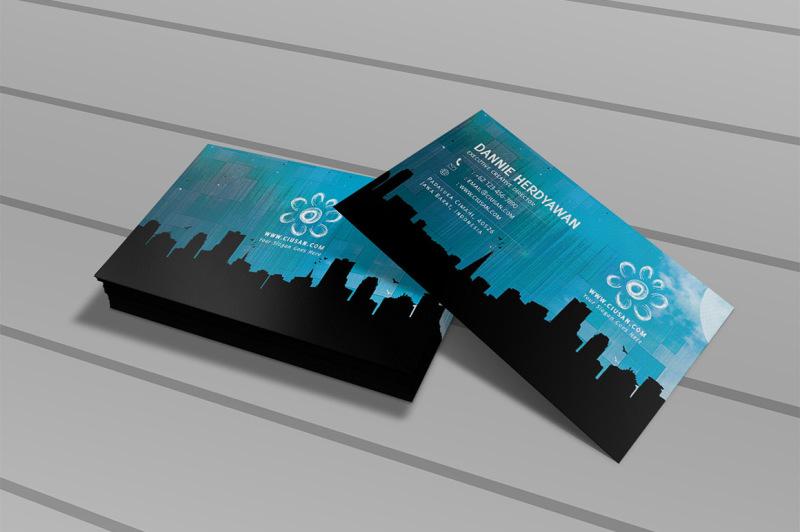 creative-blue-business-card