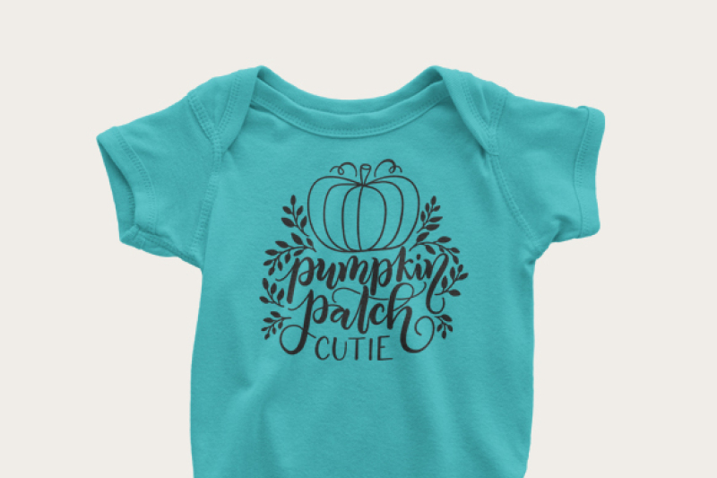 Pumpkin Patch Cutie Fall Thanksgiving Svg Dxf Pdf Files Hand Drawn Lettered Cut File Graphic Overlay By Howjoyful Files Thehungryjpeg Com
