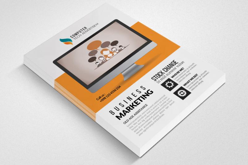 technology-computer-service-flyer