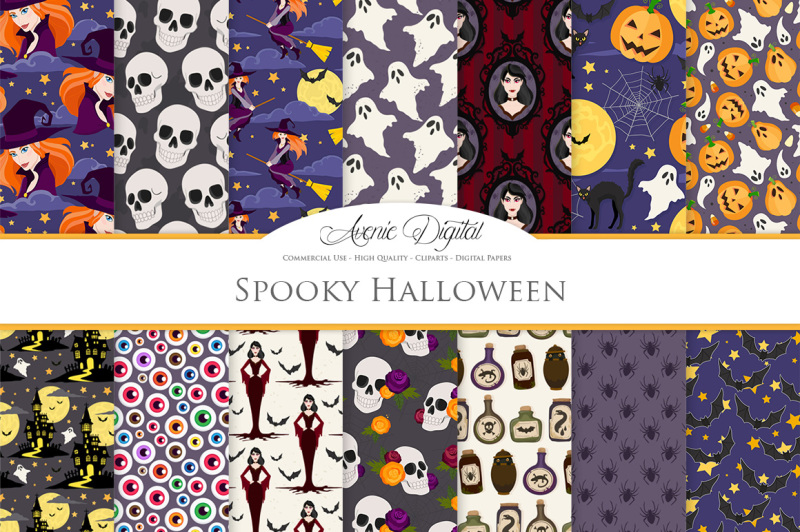 spooky-halloween-digital-paper-patterns