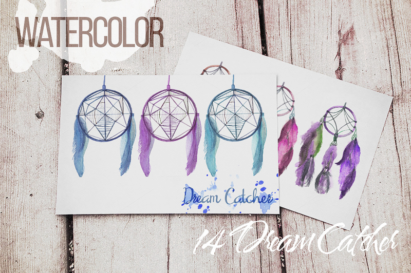 watercolor-dreamcatcher