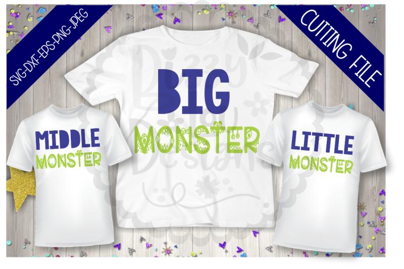 monster-siblings-bundle-svg-dxf-eps-png-jeg-cutting-file