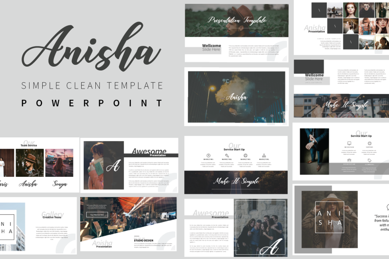 anisha-simple-clean-template