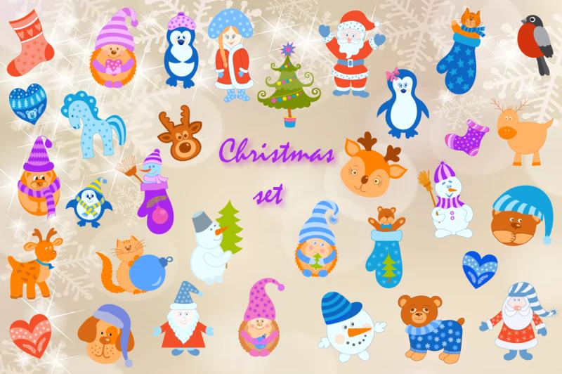 christmas-vector-set
