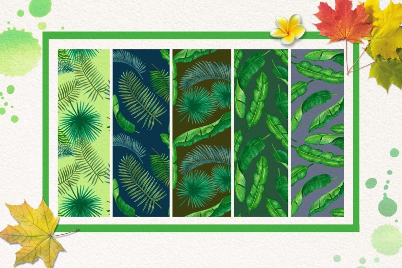 palm-and-banana-leaves-patterns