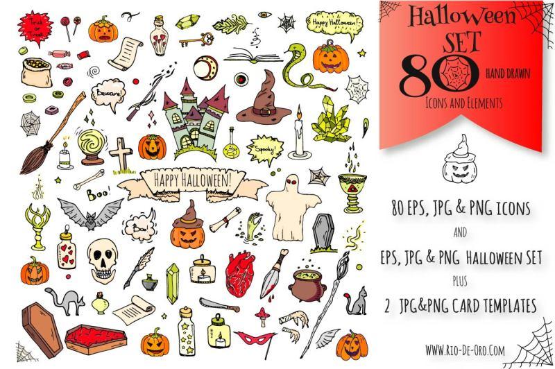 80-halloween-hand-drawn-symbols