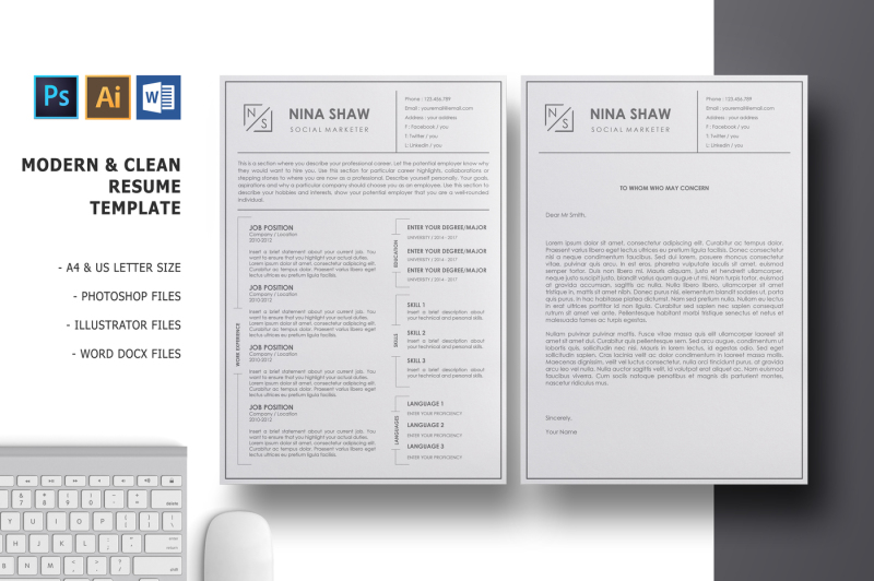 lacerta-resume-template